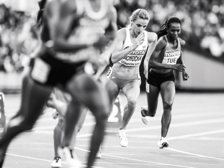 Biegi na 800 i 1500 m mają ostatnio niezwykle mocną obsadę. Obecność wśród najlepszych Angeliki Cichockiej stała się już normą. (fot.Aleksandra Szmigiel).